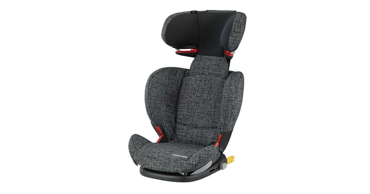 maxi cosi rodifix ap black grid czarny fotelik 15 36 kg isofix. Black Bedroom Furniture Sets. Home Design Ideas
