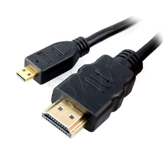 KABEL POŁĄCZENIOWY HDMI-micro HDMI (A-D) v1.4 1M sklep ...
