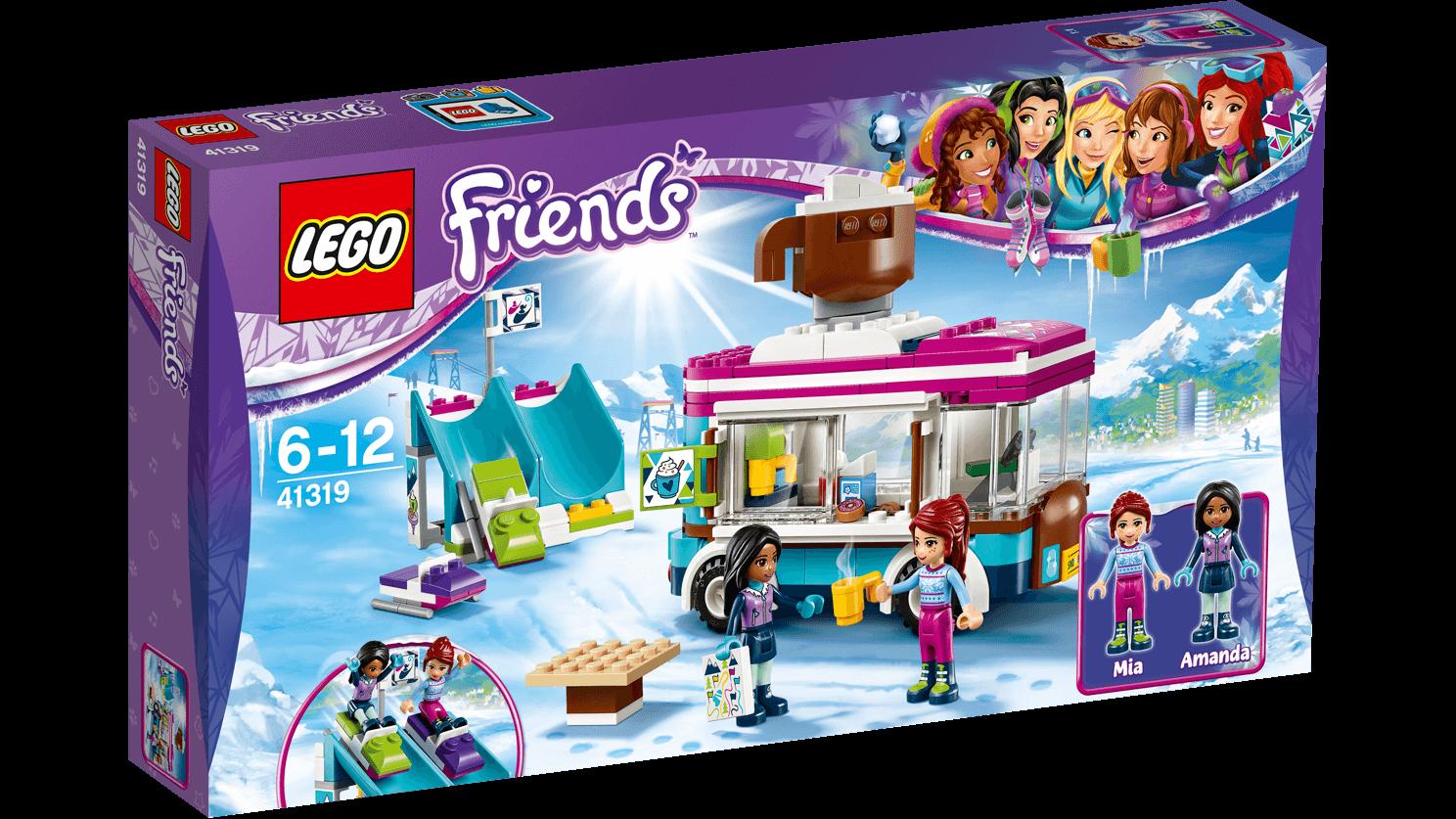 Klocki Lego Friends 41319 Furgonetka Z Gorącą Czekoladą Sklep