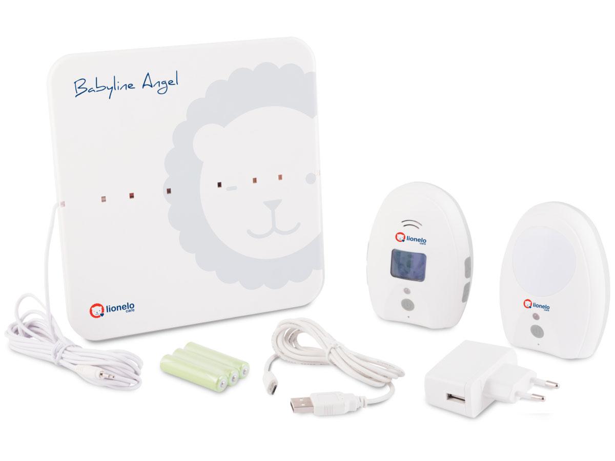 Lionelo Babyline Angel Monitor Oddechu + Niania Elektroniczna