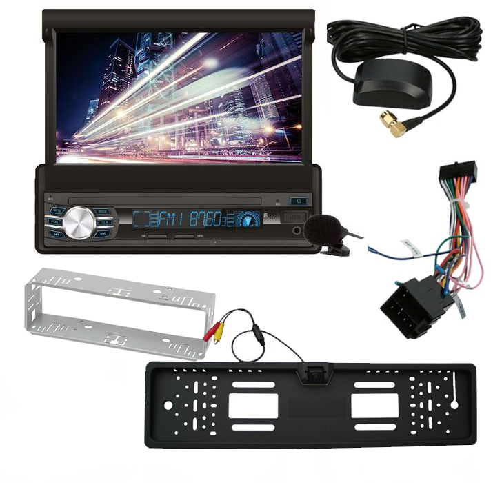Radio samochodowe Vordon AC-5201G Boston 1DIN/GPS/Ekran 7cali + Kamera  Cofania w Ramce