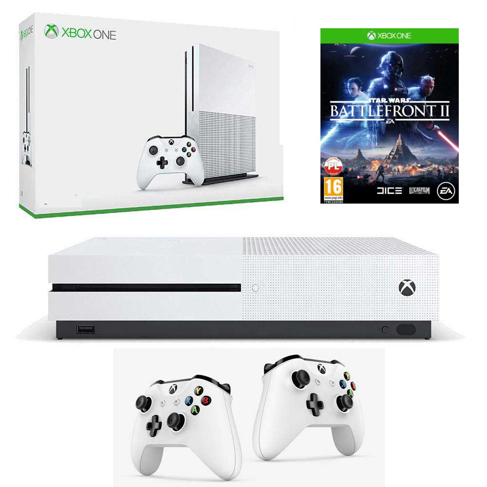Xbox One S 2 pady Star wars